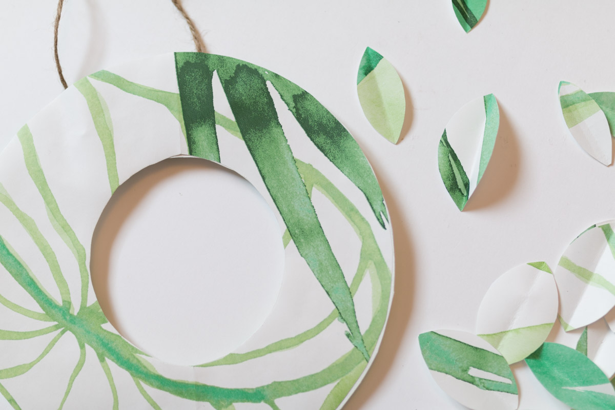 DIY couronne en papier I Sp4nkblog-3