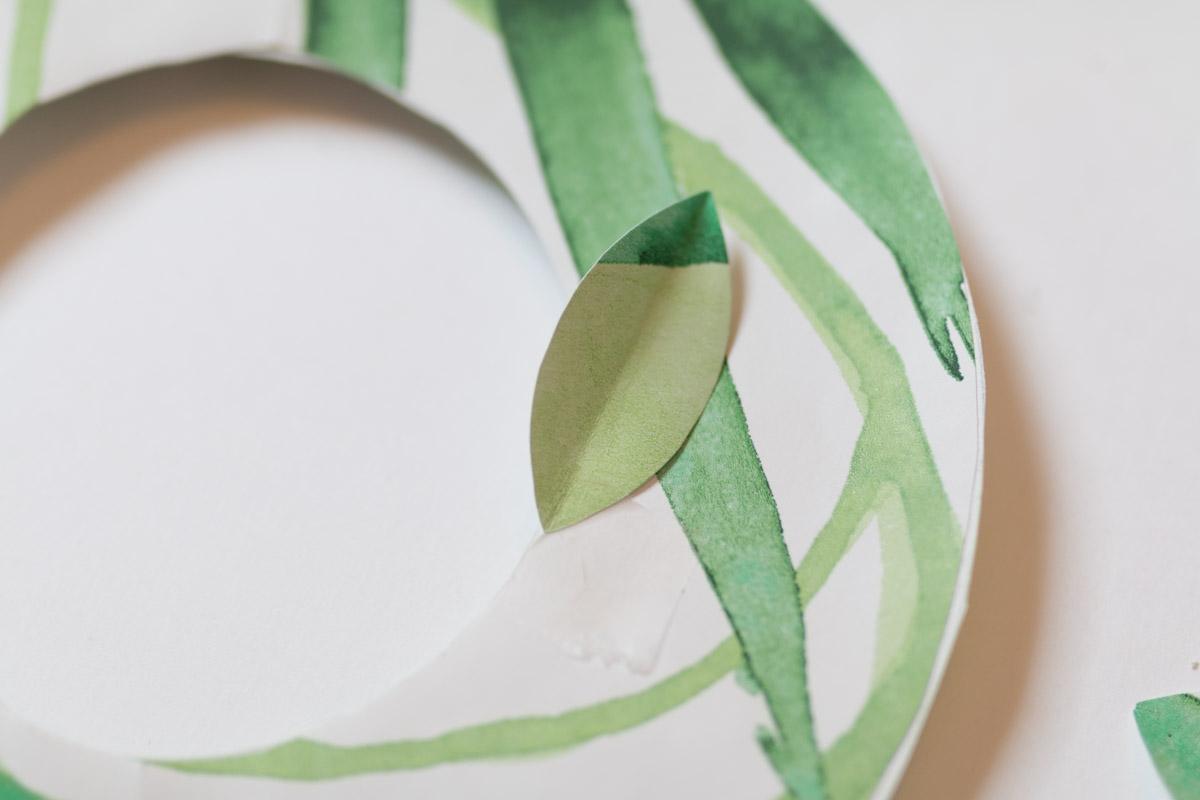 DIY couronne en papier I Sp4nkblog-4