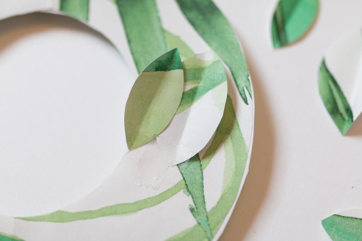 DIY couronne en papier I Sp4nkblog-5
