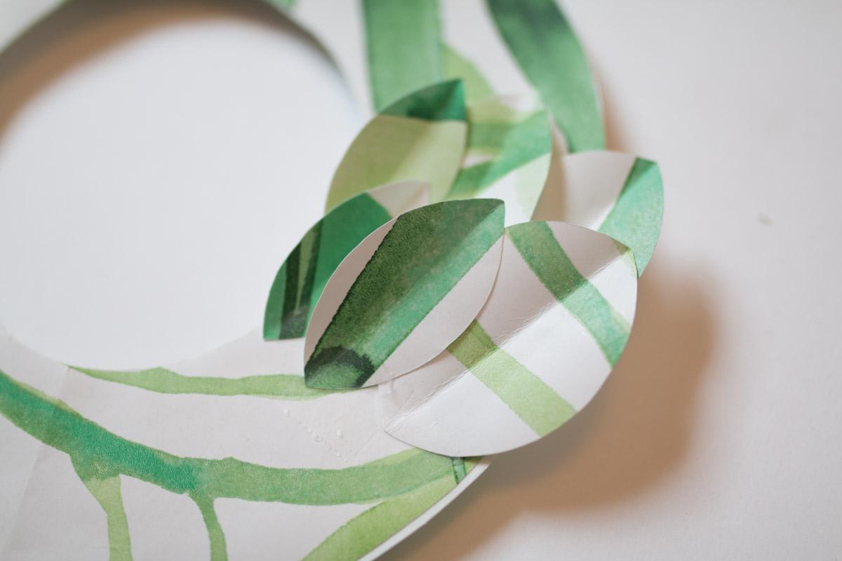 DIY couronne en papier I Sp4nkblog-7