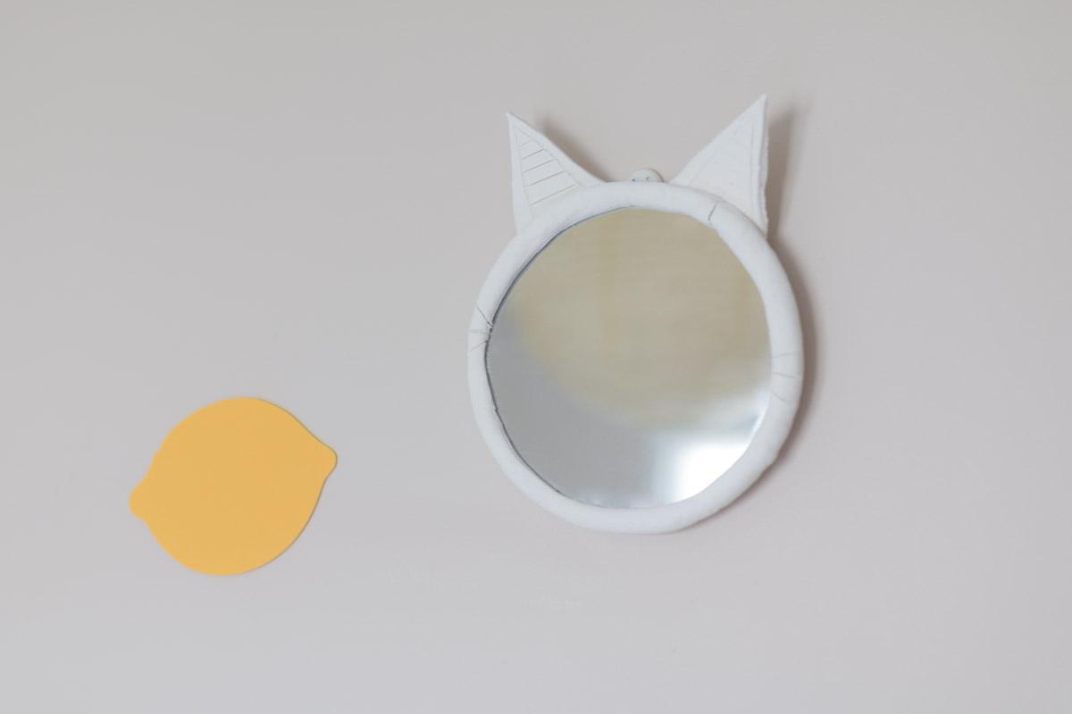 Diy 58 customiser un miroir en forme de chat sp4nk blog for Miroir des chats
