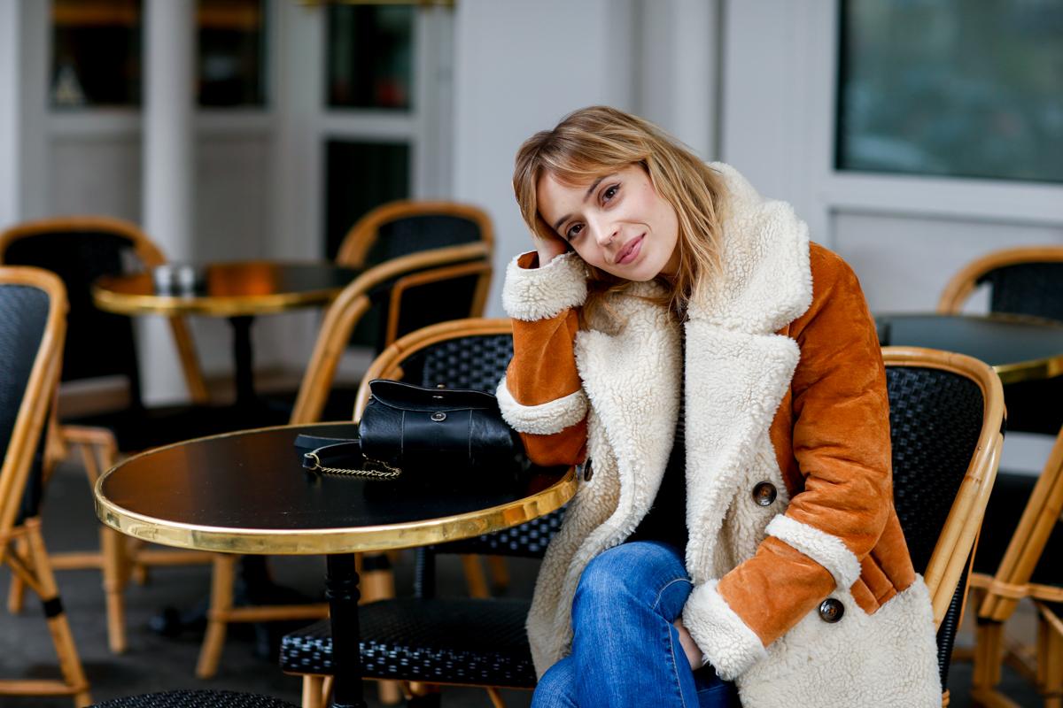Look seventies manteau en daim et flare I Sp4nkblog-5
