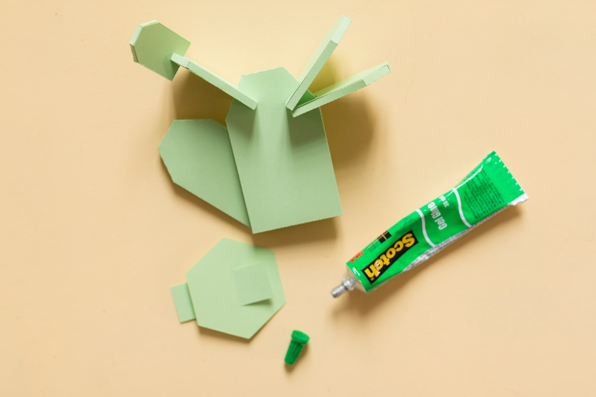 cactus en papier diy I Sp4nkblog-10