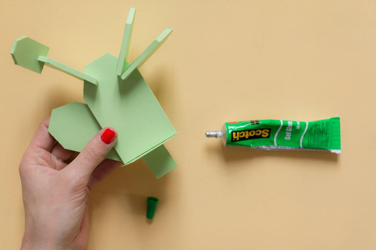 cactus en papier diy I Sp4nkblog