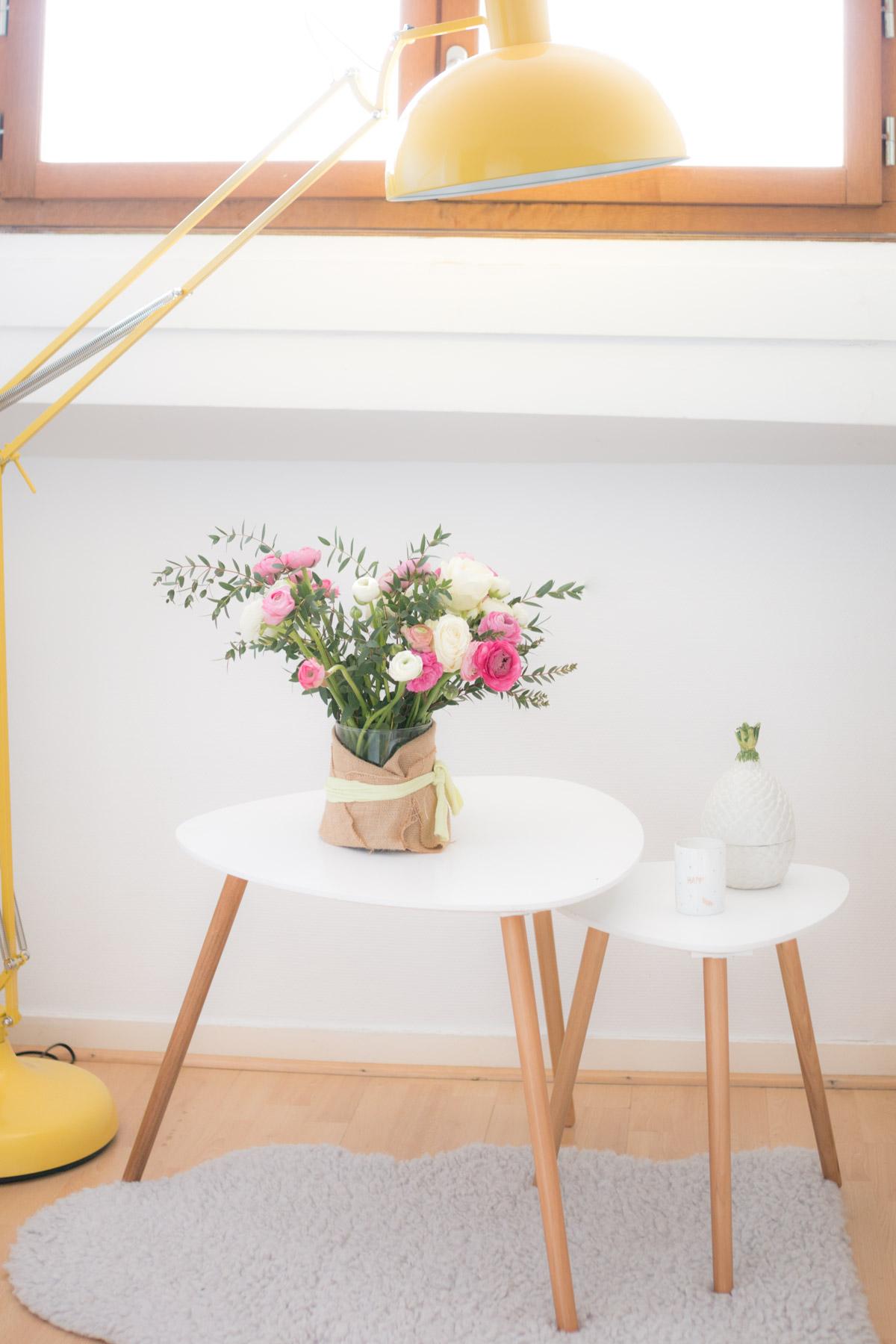 decoration chambre rose et blanc I Sp4nkblog_