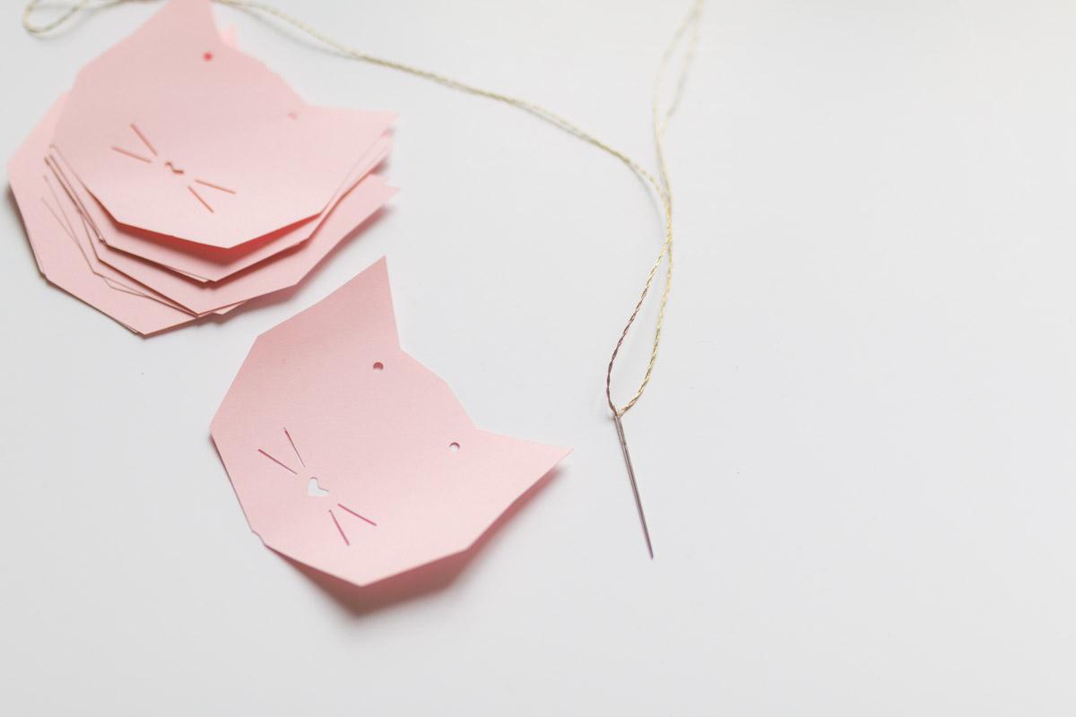 guirlande chat papier I Sp4nkblog x lesjolieschoses-8