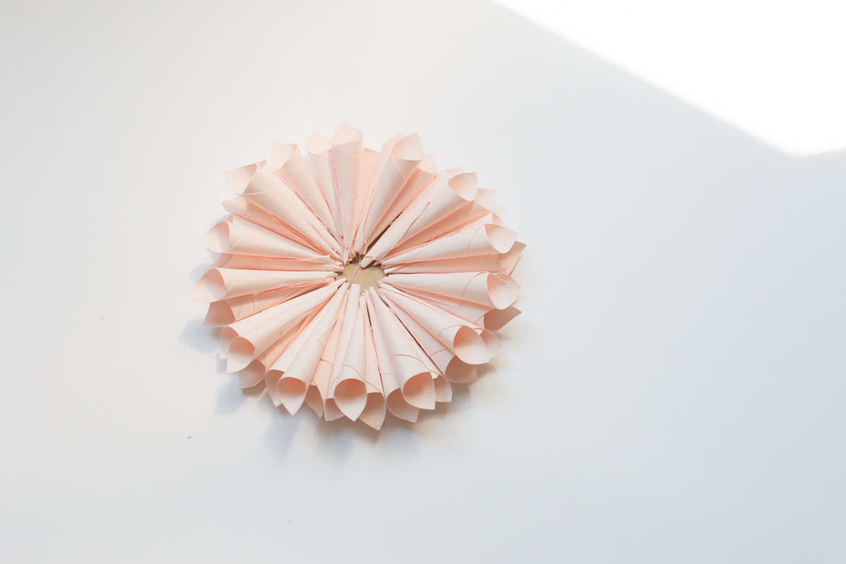 Paper flower and pompon diy I Sp4nkblog-15