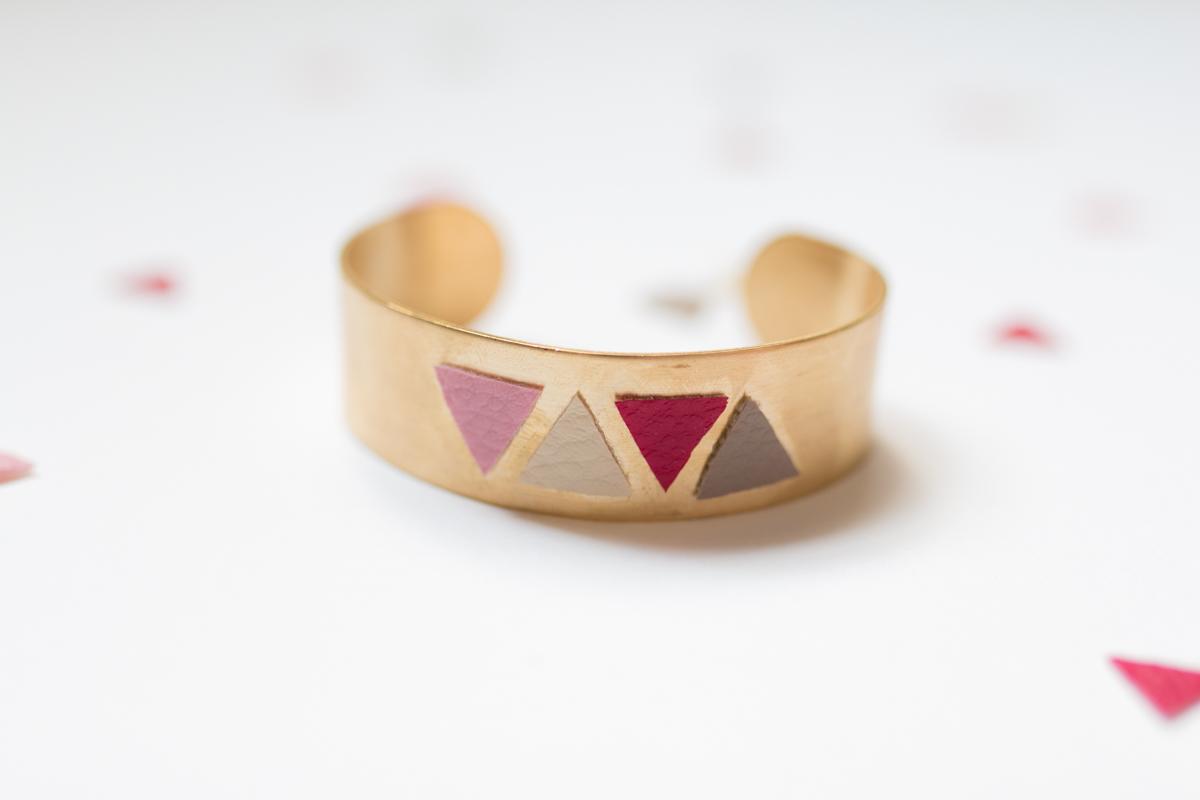 Diy bijou bracelet manchette I Sp4nkblog-12