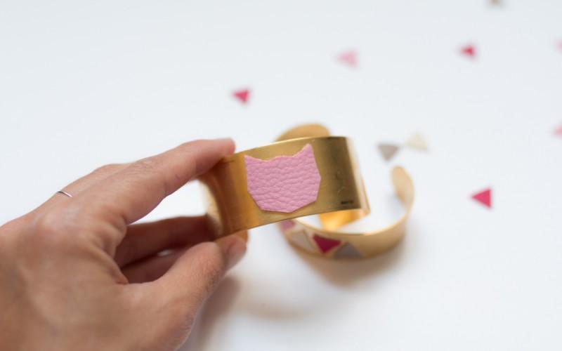 Diy bijou bracelet manchette I Sp4nkblog-13