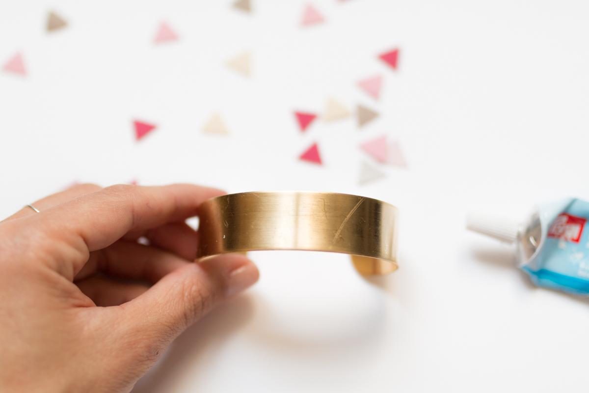 Diy bijou bracelet manchette I Sp4nkblog-4