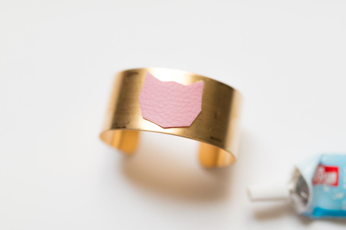 Diy bijou bracelet manchette I Sp4nkblog-7