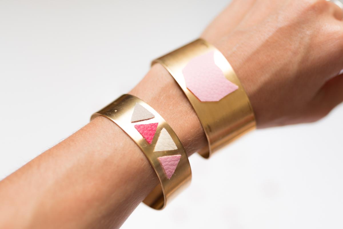 Diy bijou bracelet manchette I Sp4nkblog-9