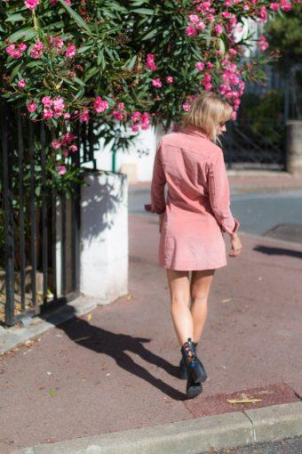 DIY #70 Les bottines à fleurs brodées