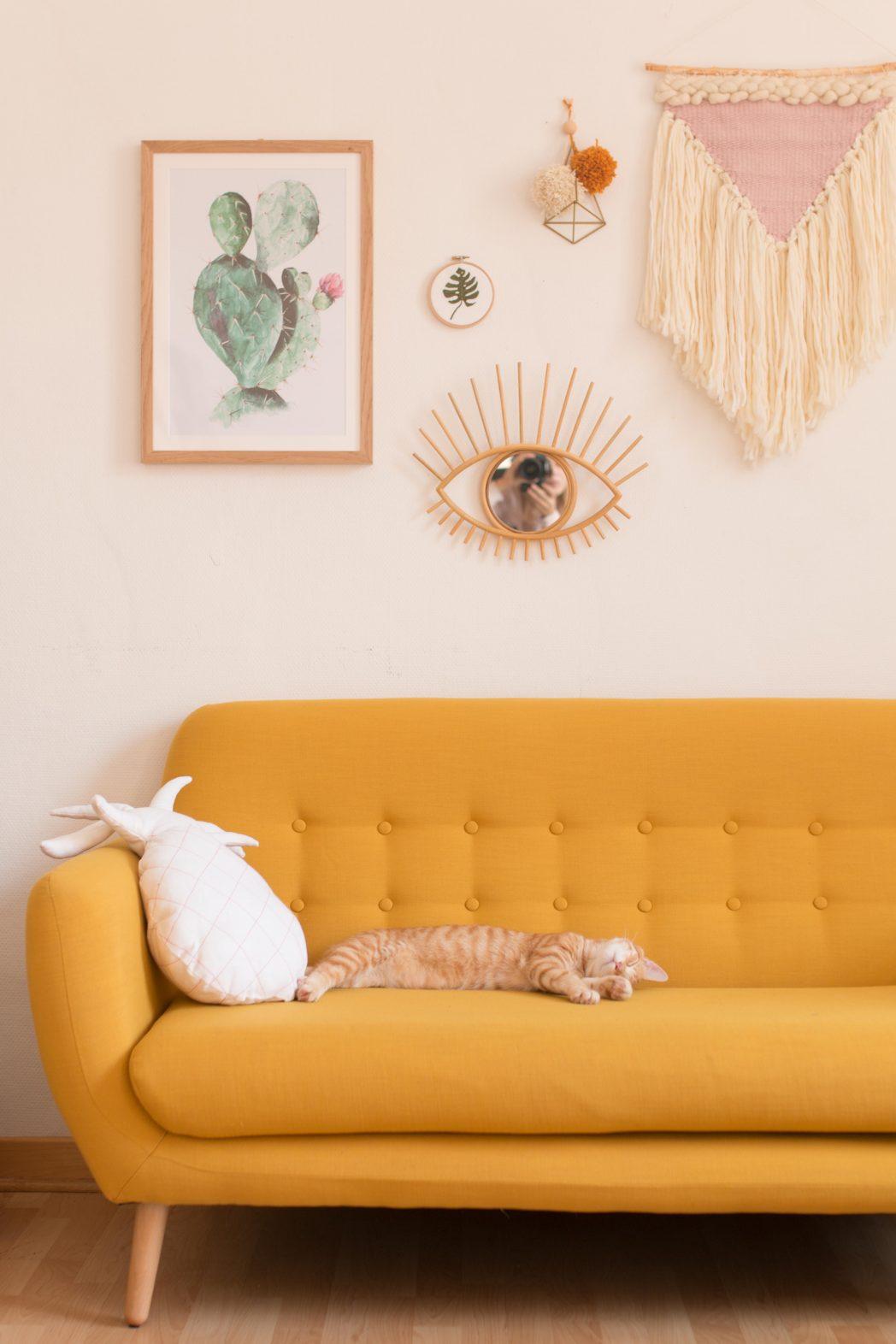 Bienvenue chez moi : la déco de mon salon