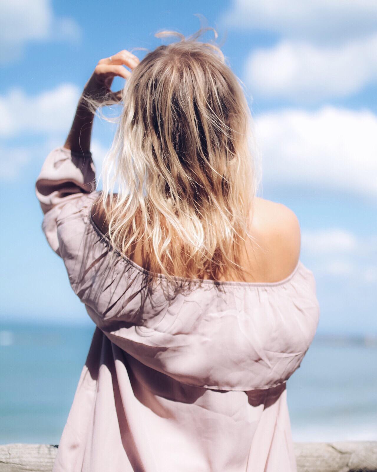 Robe rose épaules dénudées I Sp4nkblog