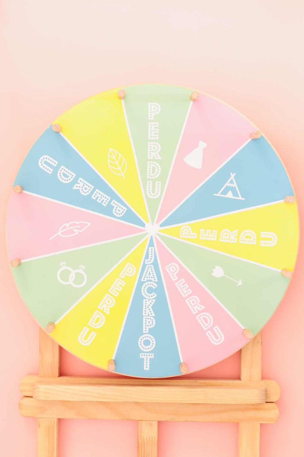 DIY #75 La roue de la fortune