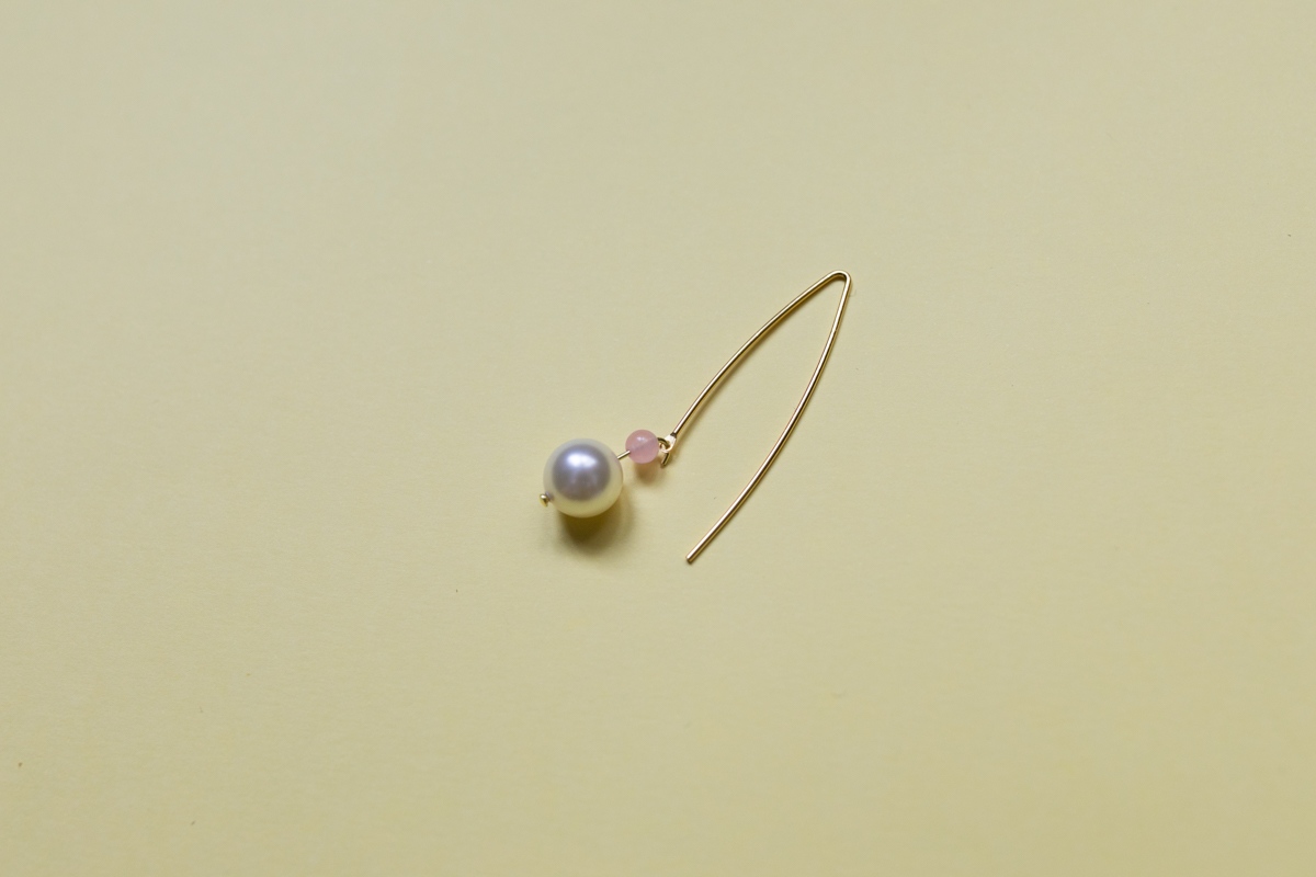 Diy 90 les boucles d 39 oreilles tige perles nacr es sp4nk blog - Tuto boucle d oreille perle ...