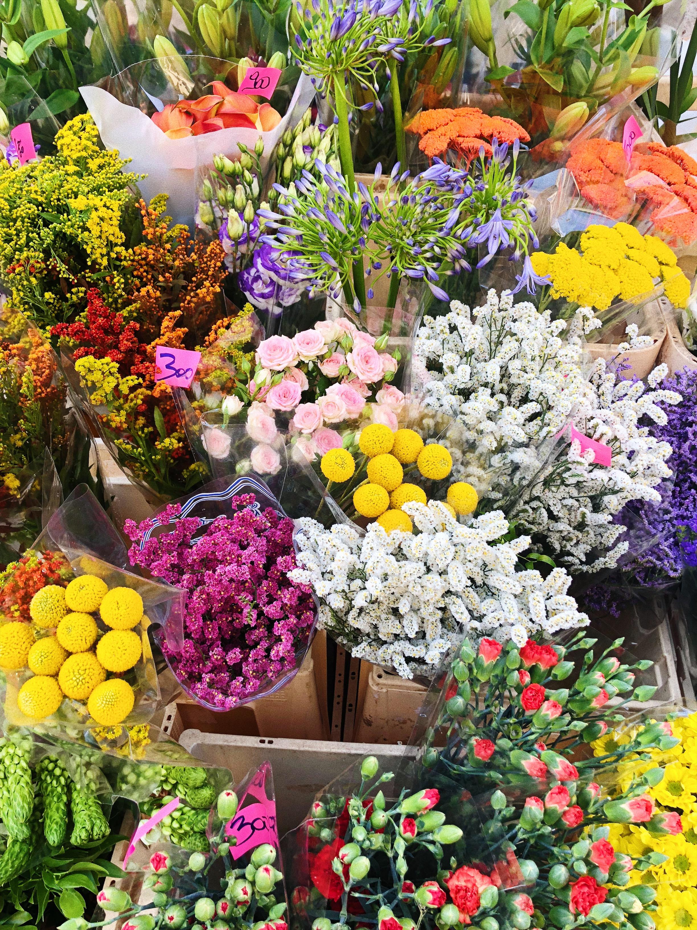 des fleurs à venise