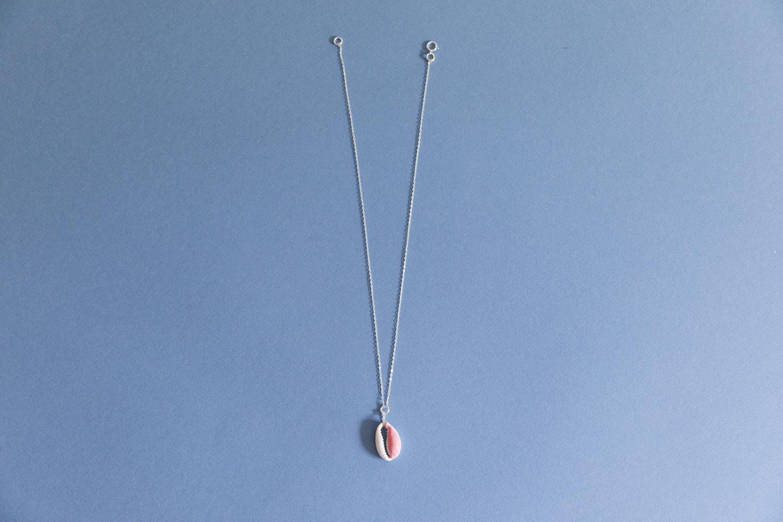 DIY collier et boucle d'oreille coquillage parure bijou-10
