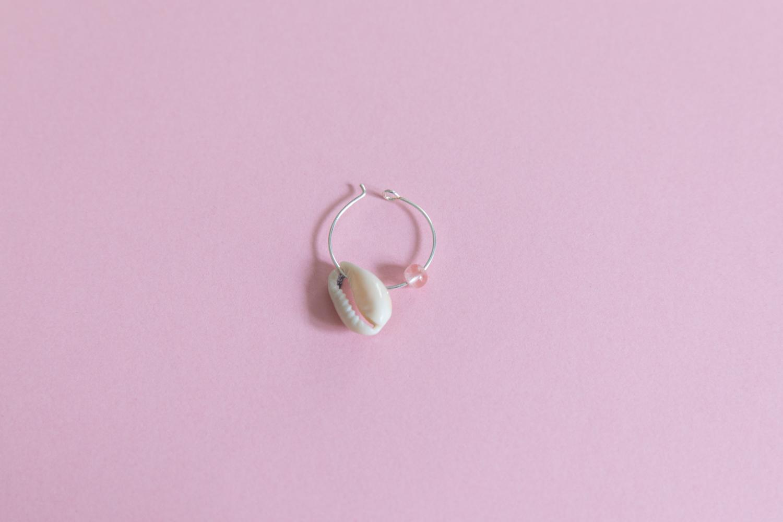 DIY collier et boucle d'oreille coquillage parure bijou-15