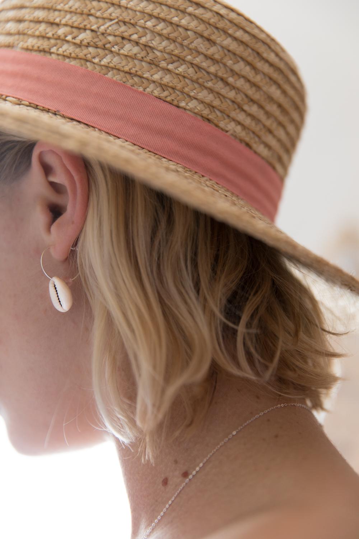 DIY collier et boucle d'oreille coquillage parure bijou-18