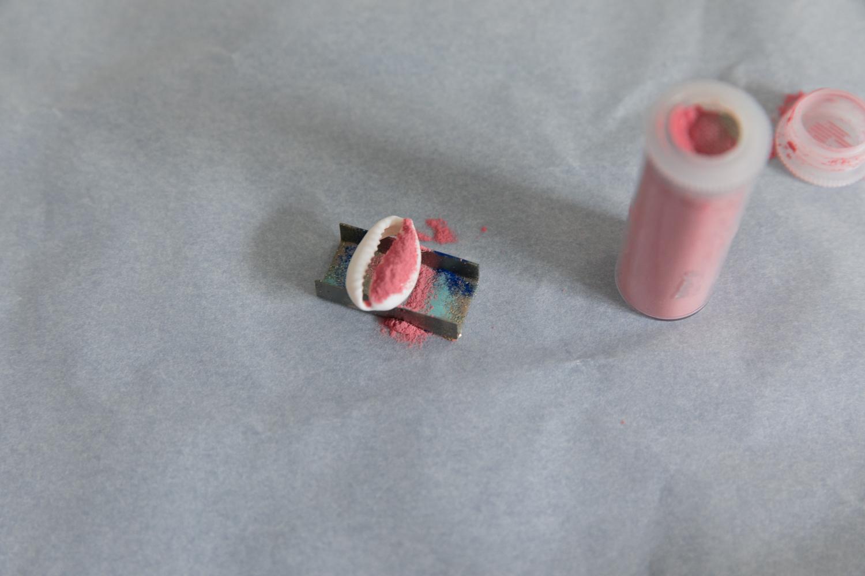 DIY collier et boucle d'oreille coquillage parure bijou-4