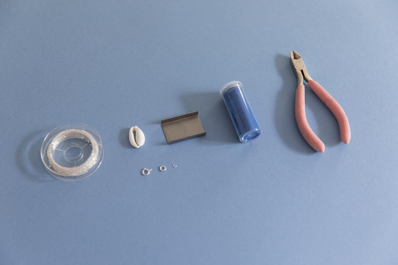 DIY collier et boucle d'oreille