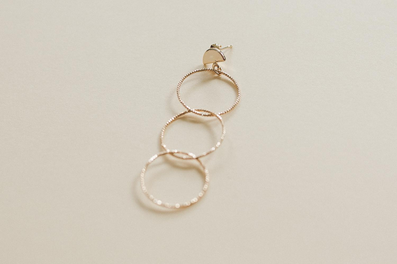 Diy bijou boucle oreille anneaux fins à faire soi meme-11