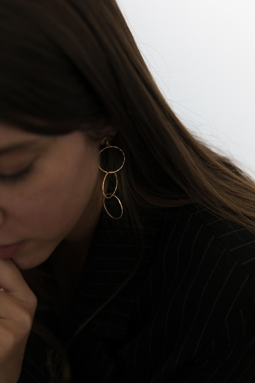 Diy bijou boucle oreille anneaux fins à faire soi meme-2