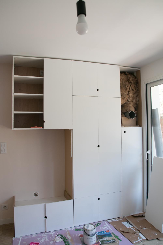 DIY meuble de rangement sur mesure entree-16