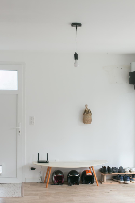 DIY meuble de rangement sur mesure entree-2