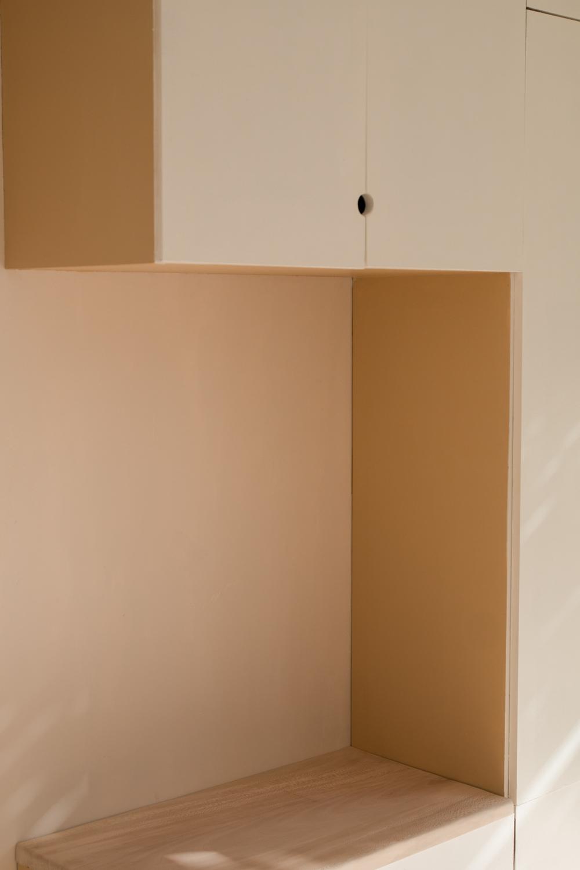DIY meuble de rangement sur mesure entree-23