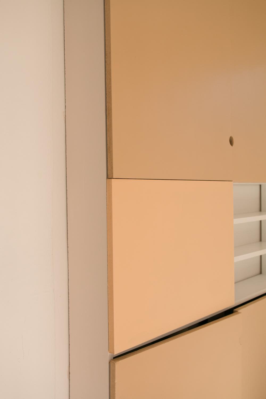 DIY meuble de rangement sur mesure entree-28