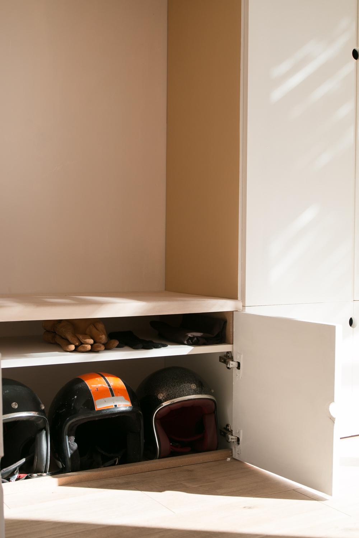 DIY meuble de rangement sur mesure entree-41