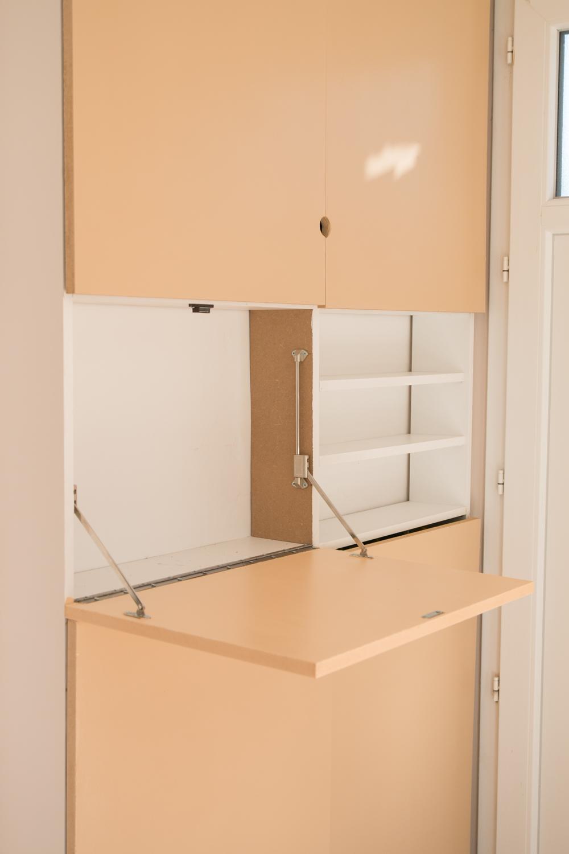 DIY meuble de rangement sur mesure entree-42
