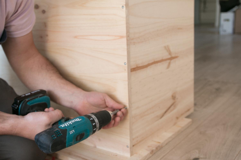 DIY fabriquer son meuble tv soi même-25