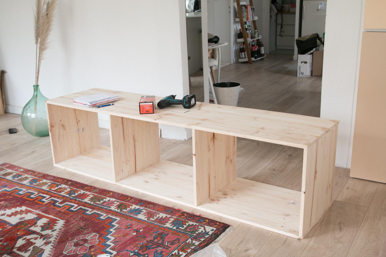 DIY fabriquer son meuble tv soi même-30