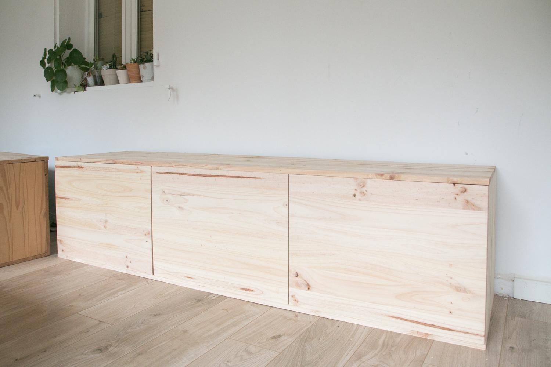 DIY fabriquer son meuble tv soi même-35