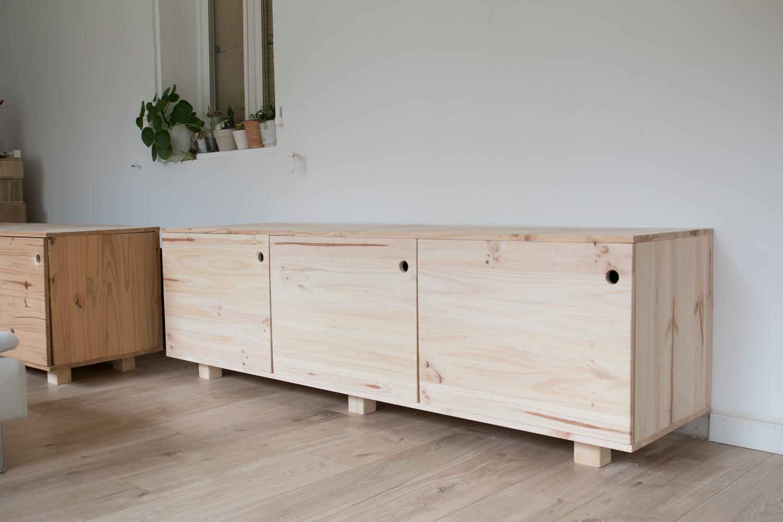 DIY fabriquer son meuble tv soi même-42