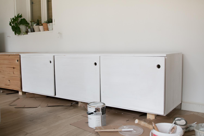 DIY fabriquer son meuble tv soi même-46