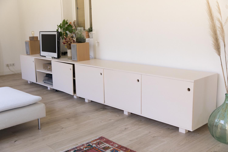 DIY fabriquer son meuble tv soi même-5