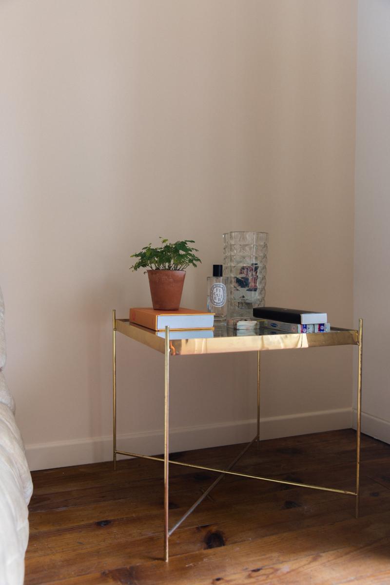 Mur nude beige bouquet de pampa diy peinture-4