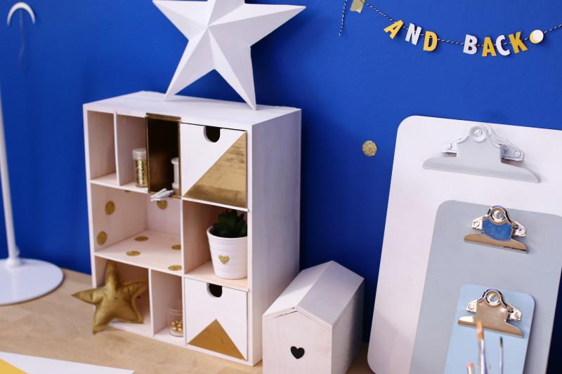 DIY etagere de bureau / Furniture Makeovers