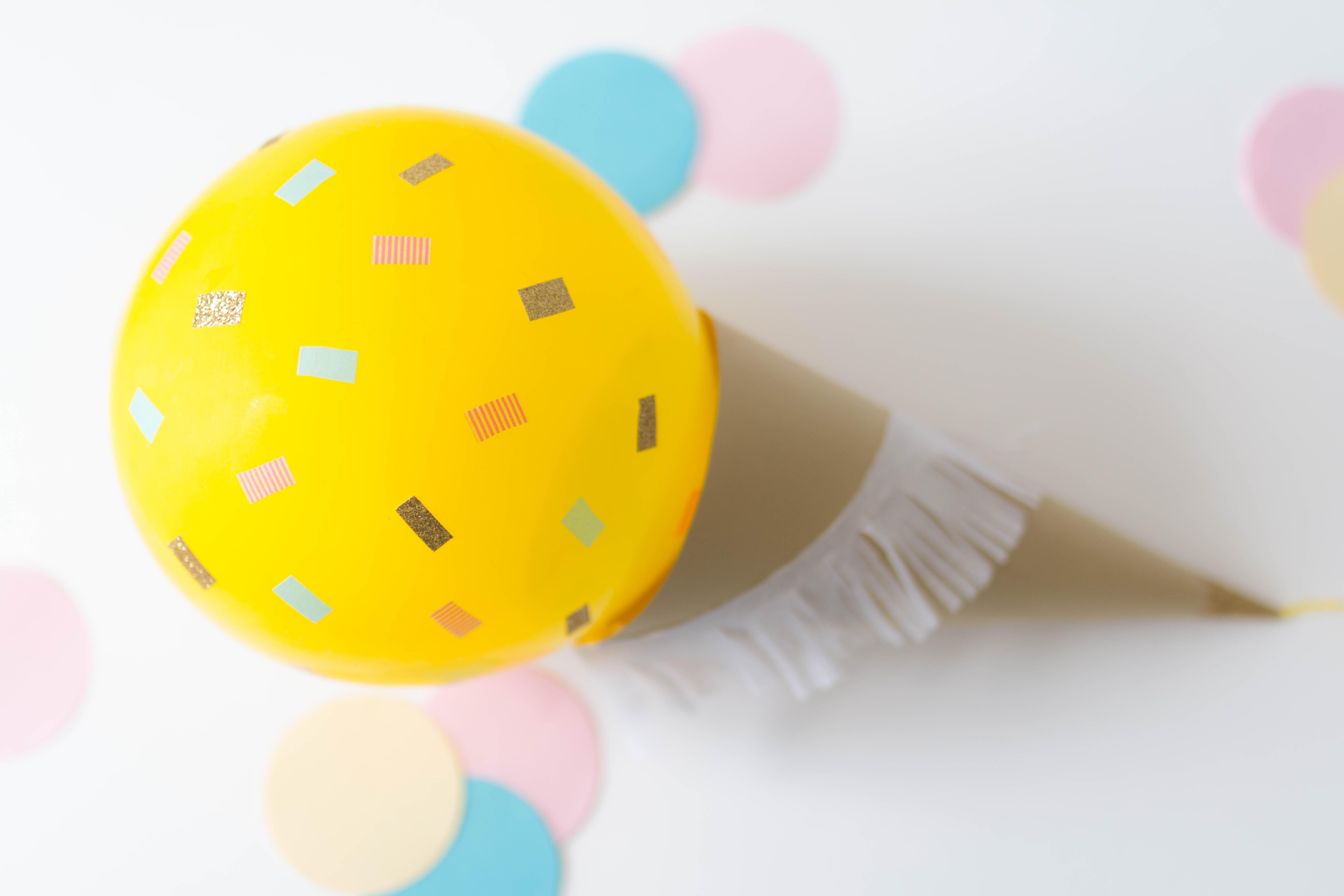 Ice cream balloon DIY 14 | SP4NK BLOG