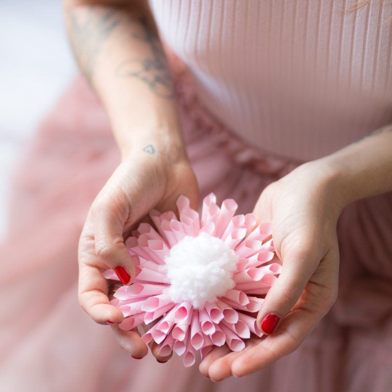 Fleur en papier diy l I Sp4nkblog-2