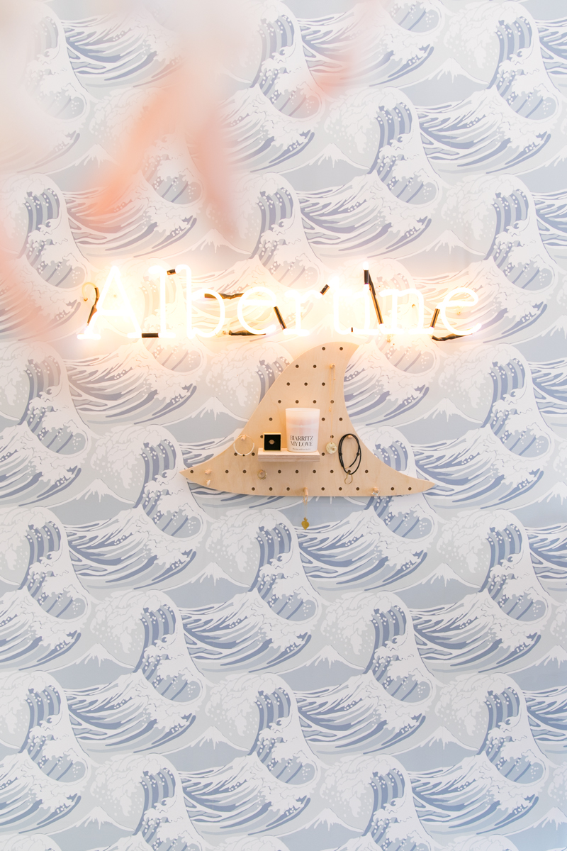 pegboard etagere en forme de vague collab little anana x albertine-4