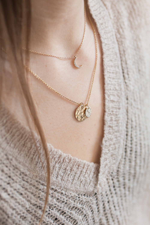 diy bijou collier medaille-18
